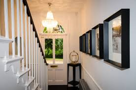 hall and stairs lighting country house interior design leicestershire cream browne