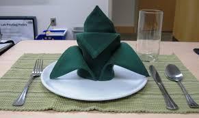 how to make fancy table napkins how to fold a cloth napkin crown fold