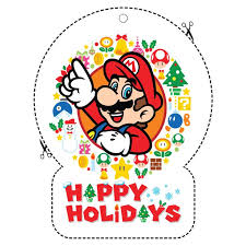 7 nintendo holiday decorations images super