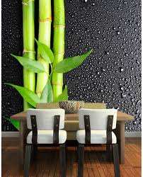 bamboo wall art print for dining room home interiors