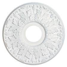 westinghouse 16 in victorian white finish ceiling medallion