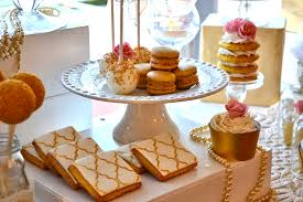 Pink And Gold Dessert Table by Romantic Pink U0026 Gold Sweets U0026 Treats Table Www