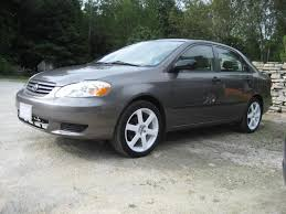 toyota corolla 2003 tires 2003 toyota corolla ce the motoring enthusiast journal my vehicles