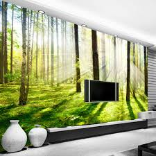 aliexpress com buy custom 3d photo wallpaper hd sunshine woods aliexpress com buy custom 3d photo wallpaper hd sunshine woods forest living room sofa bedroom tv background wall mural pictures wallpaper decor from