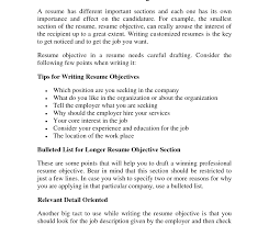 help writing resume objective statement resume objective examples