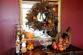 decorations thanksgiving occasional table craft decoration idea