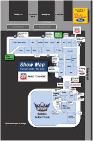 stl auto show 2017 auto show map