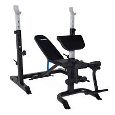 olympic style weight bench fuel pureformance olympic bench with squat rack walmart canada