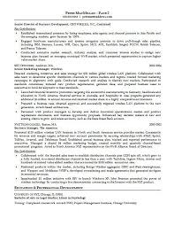 best resume format for executives resume template resume format for accounts executive free career