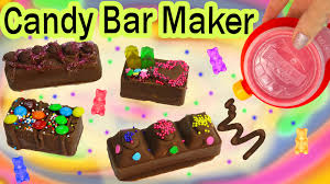 chocolate candy bar maker kit set real food sprinkles cookie dough