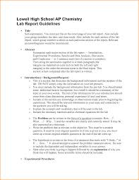 lab report conclusion template 8 high school lab report invoice template