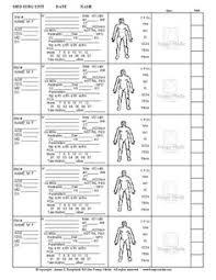 blank nursing report sheets for newborns nursing patient