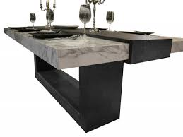 stone dining room tables wrought iron dining table with granite