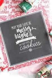 diy christmas cookie box free printables the pretty life girls