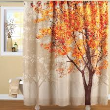 colorful autumn tree shower curtain tree shower curtains autumn
