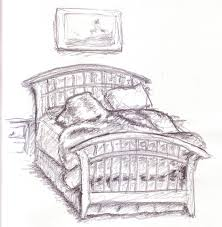 Drawing Of A Bed Drawn Bed Messy Bed Pencil And In Color Drawn Bed Messy Bed