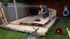 How To Make Patio Furniture Out Of Pallets Tiny Pallet House Or Cabin Diy Tutorial
