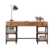 Schreibtisch Massiv Landhaus Schreibtisch Rensing Aus Kiefer Massiv Pharao24 De