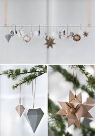 White Paper Christmas Decorations Uk by Diy Ornaments That Will Totally Chic Up Any Christmas Tree