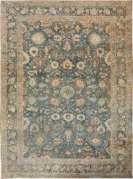 Round Persian Rug by Antique Persian Tabriz Rug 46522 By Nazmiyal
