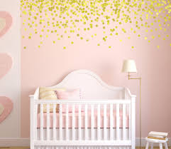 gold polka dot wall decals pink and gold nursery gold decals gold polka dot wall decals pink and gold nursery gold decals vinyl stars