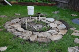 Fire Pit Ideas For Small Backyard Classic And Modern Design Of In Ground Fire Pit Homesfeed
