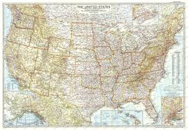 Show Me A Map Of The United States by National Geographic Map Of The United States Show Me A Map Of