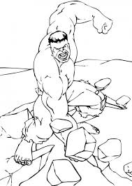 hulk coloring pages boys 78102
