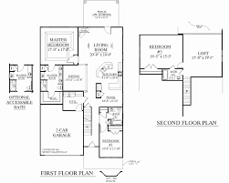 Two Story House Plans with Master Second Floor Luxury Master