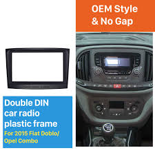 opel fiat 98mm 2din car radio fascia for 2015 fiat doblo opel combo dash
