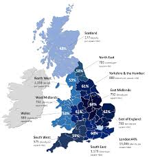 Map Of England And Scotland Divided Britain Exploring Attitudes Towards Immigration Opinium