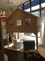 Pottery Barn Kids Bunk Beds Pottery Barn White Tree House Loft Bed Furniture Pinterest