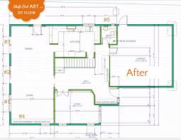 here is the floor plan for the great escape 480 sq ft small 1st floor plan before and after