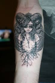 ram with long horns tattoo google search aries pinterest