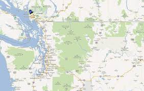 Map Of Seattle Seattle Vancouver Map Map Of Seattle And Vancouver Washington