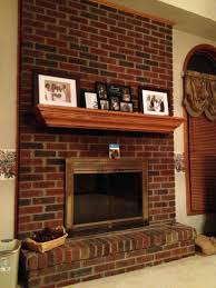 brick fireplace ideas painted stove how to install veneer