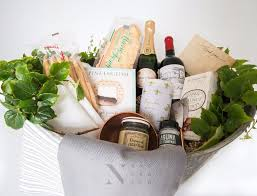 customized galvanized tin gourmet food gift basket nifty package co