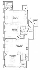 Bedroom Floor Planner by Retirement Community Floor Plans Oak Park River Forest
