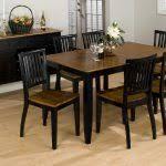 bayle black formal dining room furniture set oval table black with