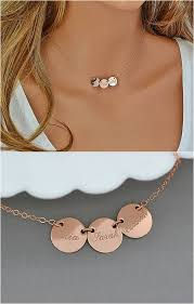 Necklace With Kids Names Initial Necklace Gold Name Necklace Mom Necklace Kids