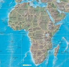 Physical Map Of Florida by Map Of Africa