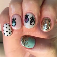 nails ornament nails nails winter nails polka