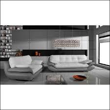 canape cuir blanc et gris canape simili cuir gris blanc maison