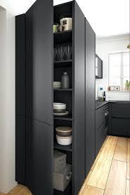 cuisine en noir cuisine noir mat ambiance ractro cuisine noir mat leroy merlin