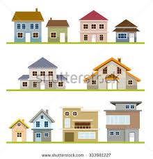 two story houses two story house isolated stock images royalty free images
