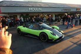 pagani zonda gold pagani zonda cinque saw this at the newport beach cars and cafe
