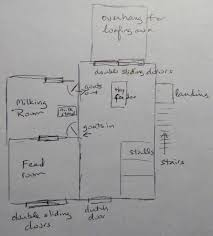 goat barn floor plans 5 acres a dream goat barn the plan