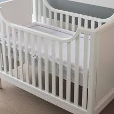 Crib Mattress Base Safesleep Breathe Through Crib Mattress White Base