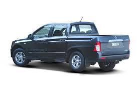 2017 ssangyong actyon sports sx 4x4 2 0l 4cyl diesel