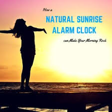 alarm clock that wakes you up in light sleep how a natural sunrise alarm clock can make your morning rock